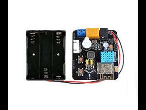 Black board T5 WIFI ESP8266 module Black ESP8266 WiFi Cloud Beta Test Board Module T5 ESP-13 MCU with Battery Case