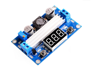 LTC1871 3.5~35V DC- DC Boost Converter Step-up Module Regulated Power Supply+VoltMeter