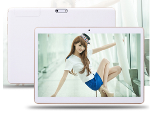 """M96 Professional  9.6"""" Tablet PC with HD IPS 1280x800 Display,Quad-core CPU1.3Ghz Phablet,support Wi-Fi,Dual Sim Phone Call,Bluetooth,GPS,Dual Camera,GSM Unlocked Features (white)"""