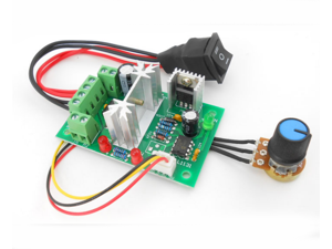 PWM DC Governor 6-30V PLC 0-5V control 6V 12V 24V motor driver module 180W Speed range 0%-100%  Motor Speed Controller Switch Governor Board