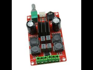 TPA3116D2 2X50W Digital Amplifier Board Class D 12V 24V Dual Channel Stereo AMP XH-M189 2 * 50W high-end digital amplifier board