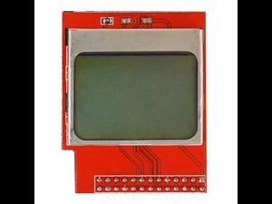 PCD8544 CPU Memory Mini LCD Screen Module 84 x 48 PCD8544 Matrix Shield Backlight for Raspberry Pi B+ / B