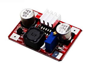 LM2577 red high voltage DC booster module OUT5-56V IN3.5-35V with indicator light (C7B3) for Arduino Module