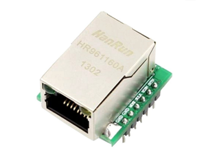 W5500 Module TCP / IP Ethernet Module USR-ES1 W5500 Chip, New SPI to LAN / Ethernet Converter, TCP / IP Mod