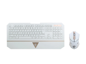 E-780 E-Element Night Elf (Mouse Led) Wirelesss Gaming Keyboard and mouse Set for PC Gameand Office