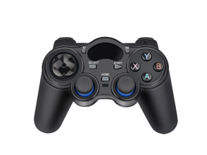 2.4G Wireless Game Controller Gamepad for PS3 Android TV Box Smartphone Tablet PC Fire TV (black)