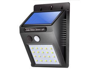 20 led solar lights   Motion Sensor Light  Security Wall Light Solar Powered light for Outdoor Patio Yard