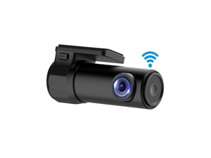 WiFi Car DVR Dash Camera HD 1080P 170 Degree Wide Angle 360° Rotation Mini Vehicle Video Recorder APP Monitor Night Vision for IOS Android Phone