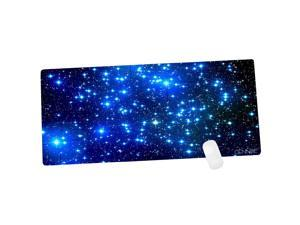 Cennbie Galaxy Extra Large XXL Gaming Mousepad Non-Slip Rubber Oblong MousePad for Computer Desk Stationery Accessories 35.4 x 15.5in