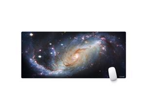 Cennbie Large Gaming Mouse Pad Extended Oblong Gaming Mousepad Edge Stitched Mouse Mat in 895mm x 395mm x 1.8mm