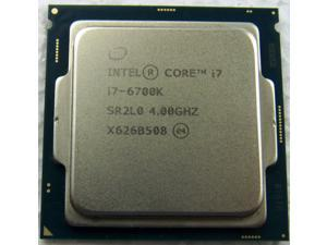 Intel Core i7-6700K 8M Skylake SR2L0 Quad-Core 4.0 GHz LGA 1151 91W Desktop TRAY Processor CM8066201919901 with Intel HD Graphics 530 => CPU ONLY, NO HEATSINK/FAN!