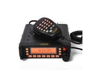 HYS TC-MAUV33 Mobile Radio FM transceiver Dual-Band Amateur Ham Radio 50W/45W Remove panel VHF/UHF Transceiver