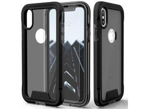 Zizo ION Series compatible with iPhone Xs Max case Military Grade Drop Tested with Tempered Glass