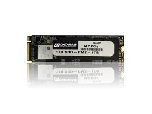 DATARAM SSD 1TB, PCIe M.2 2280 Internal Solid State Drive, PCIe 3.0 x4 NVMe 8Gb/s Interface High Speed Read & Write