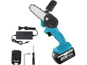 4-Inch Mini Chainsaw  Cordless Electric Protable Chainsaw  Compatible with Makita 18v battery