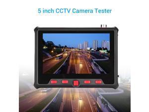 von WHOLEV 8 Zoll CCTV HDMI Monitor TFT LCD mit AV//VGA//HDMI//BNC Earphone Eingebauter Lautsprecher f/ür Raspberry Pi PC-Display CCTV-Kamera Home Security