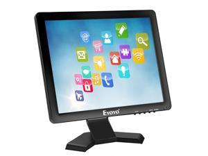 """Eyoyo 15"""" Inch Touchscreen Monitor HDMI / VGA LED Monitor 4:3 Display 1024×768 w/ Built-in Speaker for POS System Industrial Equipment Computer Laptop"""