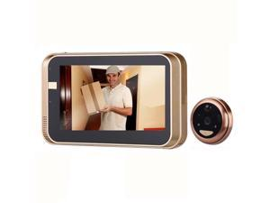 4.3Inch WiFi  Peephole HD720P Doorbell With Camera Intercom APP Remote Control For IOS Andriod PIR Motion Detect Alarm Video Eyes