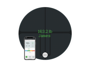 QardioBase 2 WiFi Smart Scale and Body Analyzer: monitor weight, BMI and body composition, easily store, track and share data. Free app for iOS, Android, Kindle. Works with Apple Health.