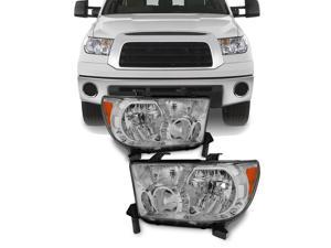 For Toyota Tundra OE Replacement Headlights Driver/Passenger Head Lamps