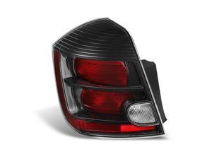 For Nissan Sentra 2.5L SE-R Model Black Rear Tail Light Brake Lamp Replacement Driver Left Side