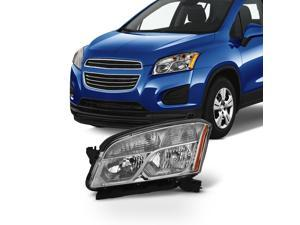 Fits 2015 2016 Chevy Chevrolet Trax Driver Side Halogen Headlight Headlamp Assembly - Left