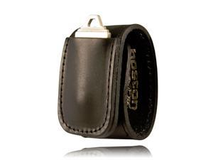 Boston Leather 5498-3 Double Wider Keeper with Keypocket, Basket Weave