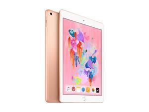 "[MRJN2LL/A] Apple iPad 6th Generation 32GB 9.7"" (2048x1536) BT IOS 11 2 Webcams WiFi GOLD"
