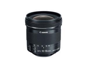 Canon EF-S 10-18mm f/4.5-5.6 IS STM Lens for DSLR Cameras