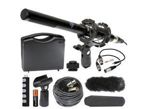 Canon PowerShot G9X Digital Camera External Microphone Vidpro XM-55 13-Piece Professional Video & Broadcast Unidirectional Condenser Microphone Kit