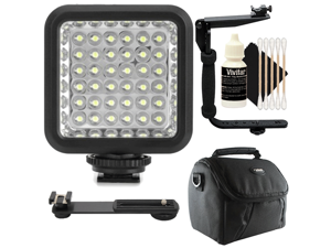Professional Long Life Multi-LED Dimmable Video Light for Samsung NX500