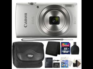 Canon Ixus 185 / Elph 180 20MP Digital Camera Silver with 16GB Accessory Kit