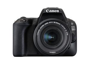 Canon EOS Rebel 200D / SL2 DSLR Camera with 18-55mm f/3.5-5.6 III Lens