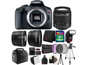 Canon EOS Rebel T7 DSLR Camera with 18-55mm Lens + 3pc Filter Accessory Kit