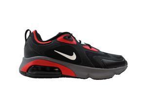 Nike Air Max 200 Black/White-University Red CI3865-002 Men's Size 10.5