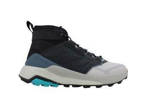 Adidas Terrex Trailmaker Mid Grey Two/Core Black-Hi-Res Aqua FU7235 Men's Size 10 Medium