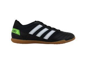 Adidas Super Sala Core Black/Footwear White-Solar Green FV5456 Men's Size 9.5