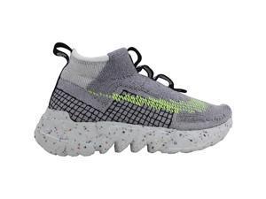 Nike Space Hippie 02 Grey/Volt Glow-Photon Dust CQ3988-002 Men's Size 8 Medium