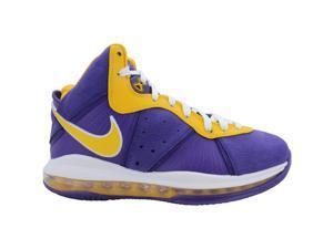 Nike Lebron VIII Court Purple/University Gold DC8380-500 Men's Size 8.5 Medium