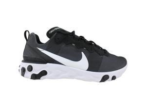 Nike React Element 55 Black/White BQ6166-003 Men's Size 10 Medium