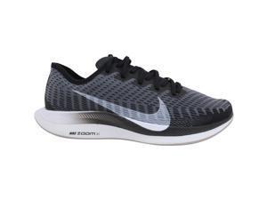 Nike Zoom Pegasus Turbo 2 Black/White-Gunsmoke AT8242-001 Women's Size 9.5 Medium