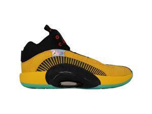 Nike Air Jordan XXXV FC PF University Gold/Chile Red DD3044-700 Men's Size 13 Medium