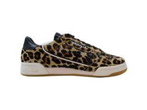 Adidas Continental 90 Black/White-Gum Leopard F33994 Men's Size 10.5