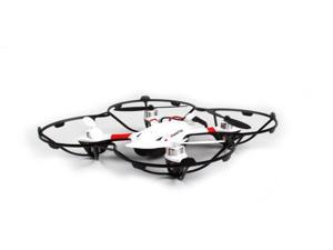 WonderTech Gemini RC 6-Axis Gyro Remote Control Quadcopter Flying Drone with HD Camera, LED Lights, White