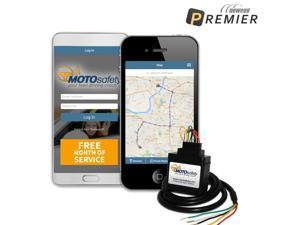MOTOsafety GPS Teen Tracking Wired Device & Driving Coach with Free Month of 3G GPS Service