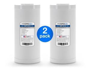 "2 Pack - Hydronix SDP-4510 Dual Purpose Radial Flow Cartridge 4.5"" x 10"""