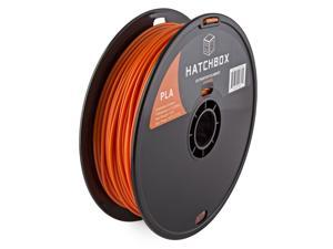 HATCHBOX 3D PLA-1KG3.00-ORN 3D Printer Filament, Dimensional Accuracy +/- 0.05 mm, 1 kg Spool, 3.00 mm, Orange