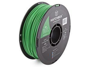 HATCHBOX 3D ABS-1KG3.00-GRN ABS 3D Printer Filament, Dimensional Accuracy +/- 0.05 mm, 1 kg Spool, 3.00 mm, Green