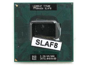 Intel Core 2 Duo T7500 Merom 2.2 GHz Socket 478 Dual-Core SLAF8 Mobile Processor