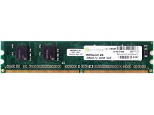MEMORY RM3264AA667.4FD, 256MB DDR2 PC2-5300 NON-ECC UNBUFF DIMM